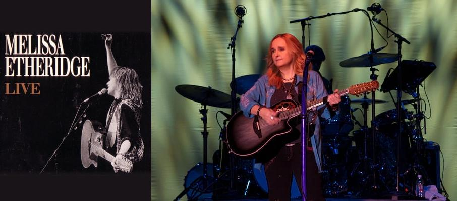 Melissa Etheridge at Revel Ovation Hall