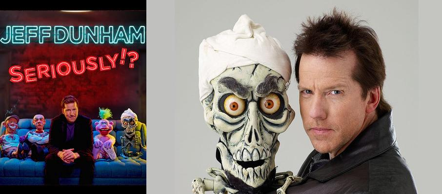 Jeff Dunham at Revel Ovation Hall