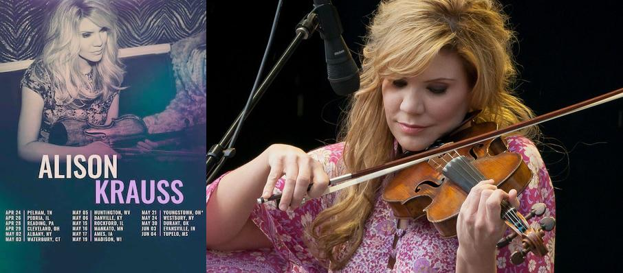 Alison Krauss at Revel Ovation Hall