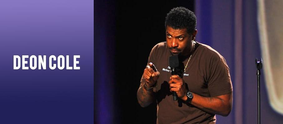 Deon Cole at Borgata Music Box