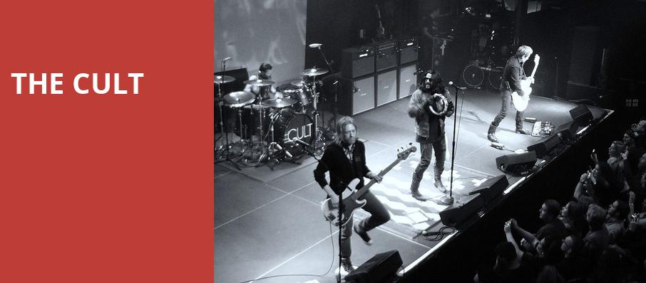 The Cult, The Theater at Hard Rock Hotel and Casino Atlantic City, Atlantic City