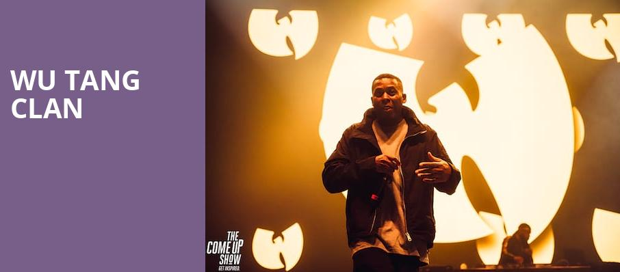 Wu Tang Clan, Borgata Events Center, Atlantic City