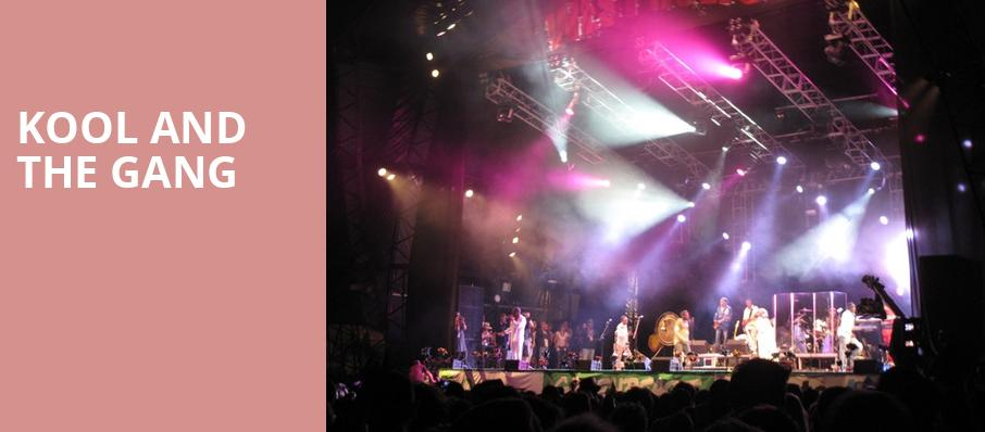 Kool and The Gang, Etess Arena at Hard Rock and Hotel Casino, Atlantic City