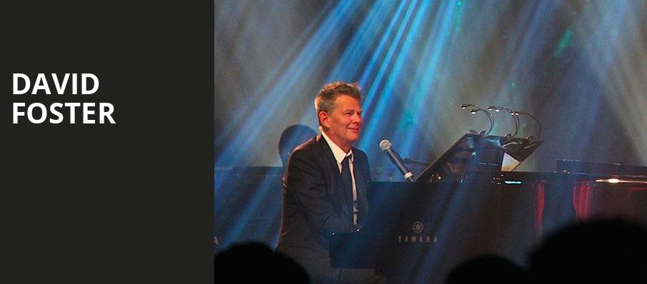 David Foster, Borgata Music Box, Atlantic City