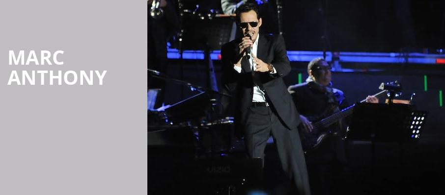Marc Anthony, Etess Arena at Hard Rock and Hotel Casino, Atlantic City
