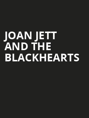 Joan Jett and The Blackhearts Poster